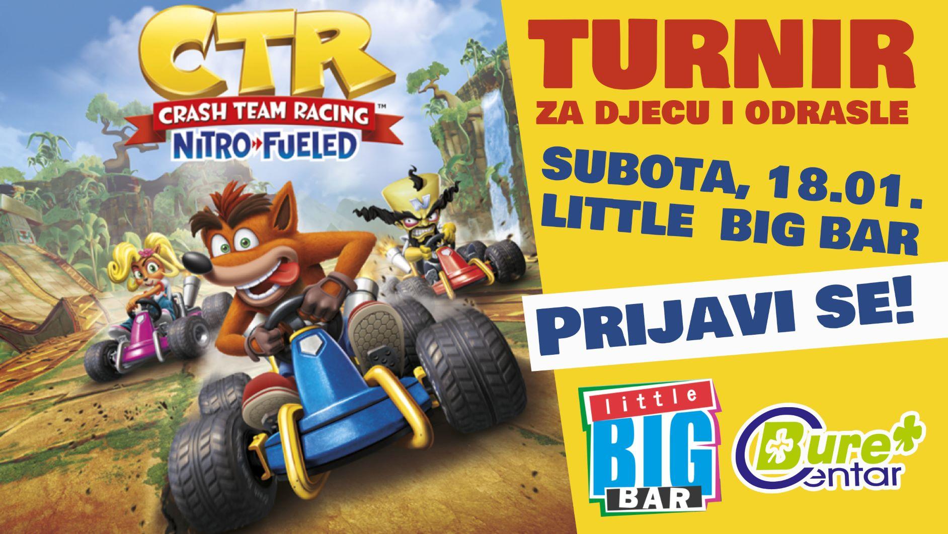 Crash Team Racing turnir u little BIG baru