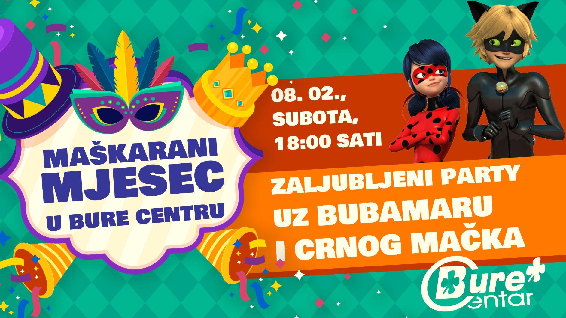 Zaljubljeni party uz Bubamaru i Crnog Mačka