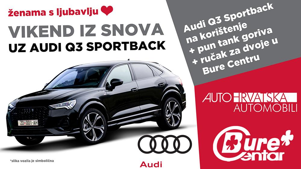 Vikend iz snova uz Audi Q3 Sportback