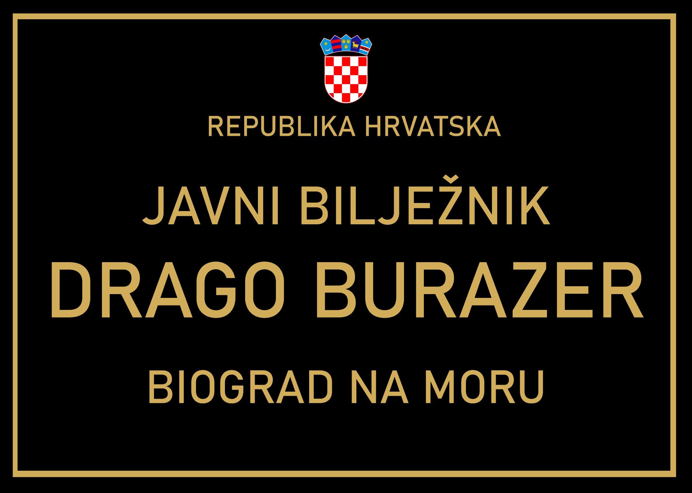 Javni bilježnik Drago Burazer