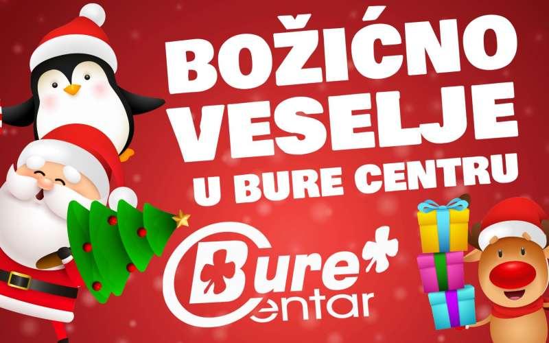 Božićno veselje u Bure Centru