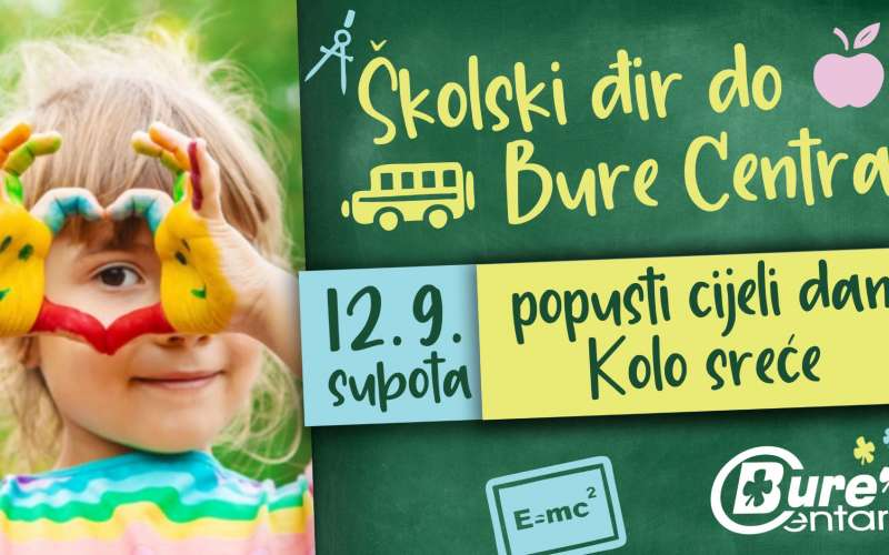 Školski đir do Bure Centra